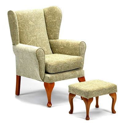 Good Queen Anne Fireside Chair Queen Anne Fireside Chair ...