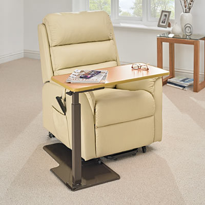 adjustable riser recliner table universal design careco rh careco co uk
