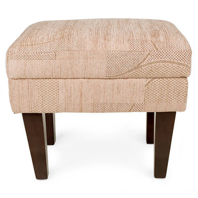 beige footstool for Dorset fireside chair