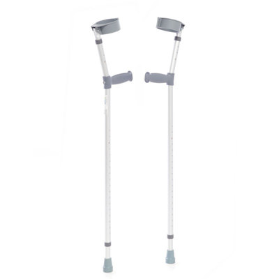 CareCo Aluminium Elbow Crutches