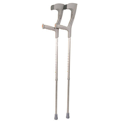 Patterned Forearm Crutches