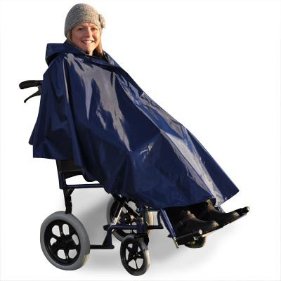 Splash Wheelchair Poncho - Unlined