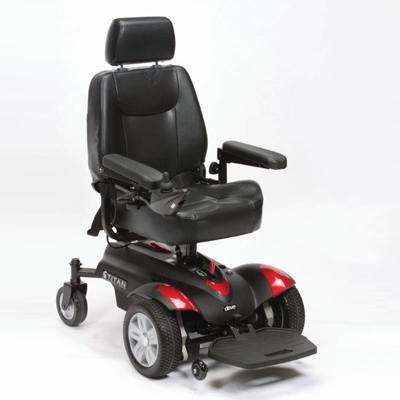 titan powerchair, titan electric wheelchair, careco titan