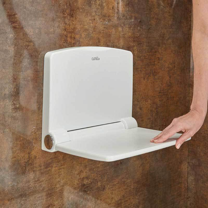 Chroma Wall Mounted Folding Shower Chair Careco