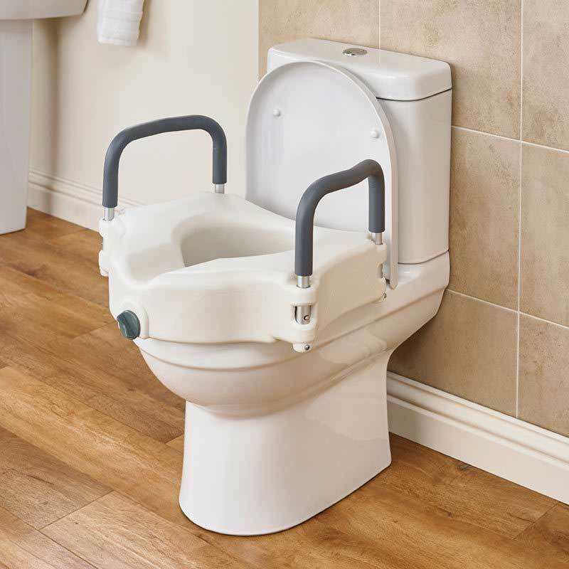 Sensational Deluxe Toilet Seat Raiser Caraccident5 Cool Chair Designs And Ideas Caraccident5Info