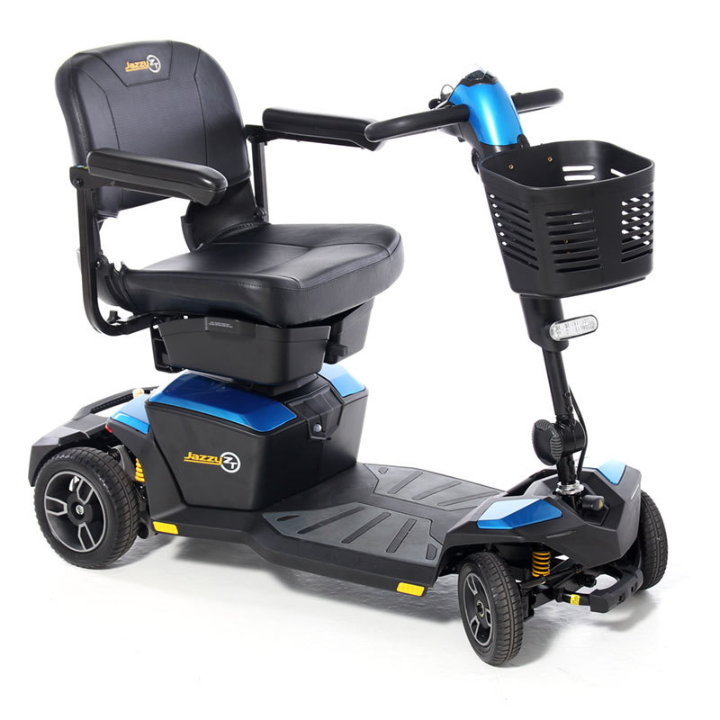 Pride Jazzy Zero Turn Travel Mobility Scooter With Suspension | CareCo