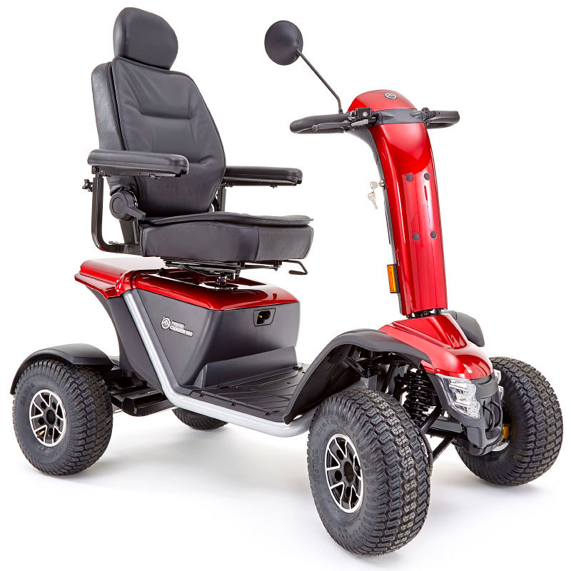 red Fellman Chaser off-road mobility scooter