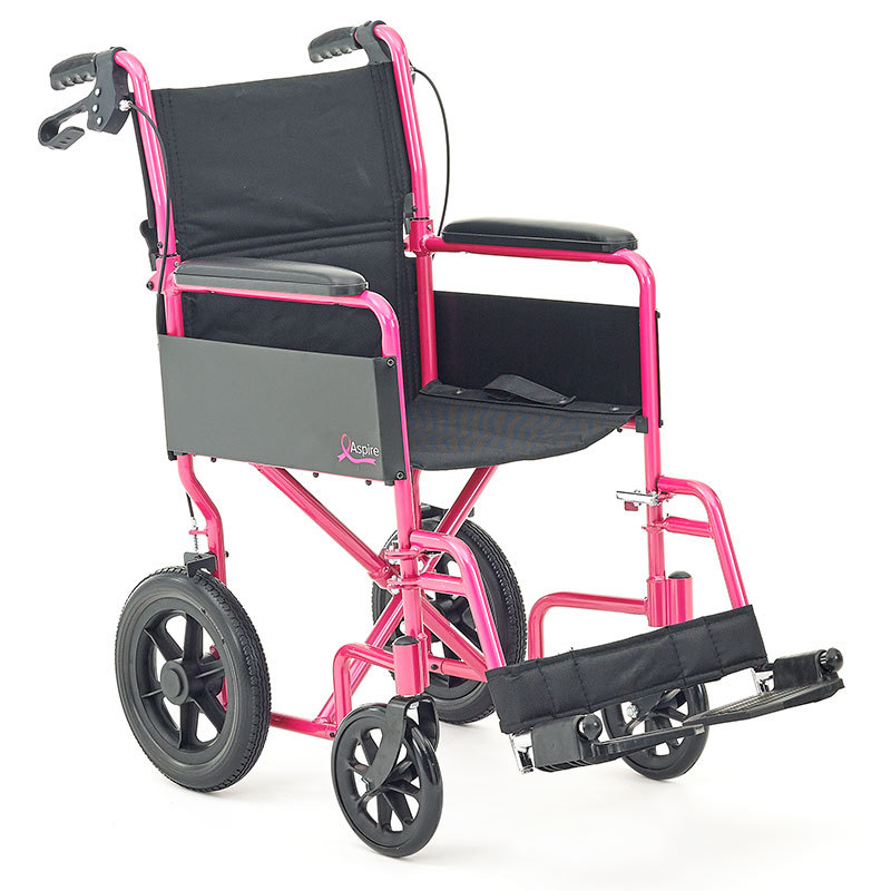 CareCo Aspire Transit Wheelchair breast cancer awareness