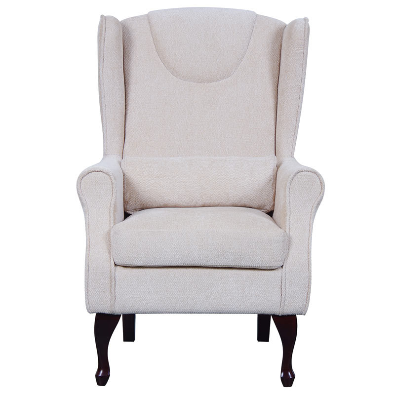 Mulberry Fireside Chair With Footstool Careco