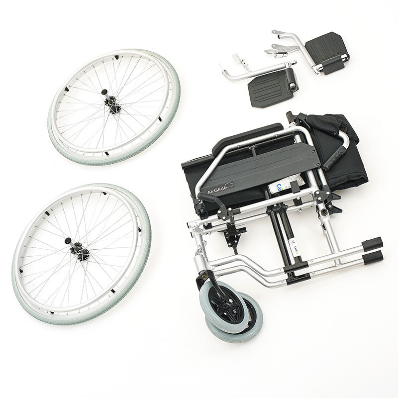 CareCo Aluminium AirGlide self-propelled Wheelchairs