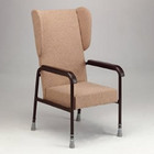High Back Chair With Wings