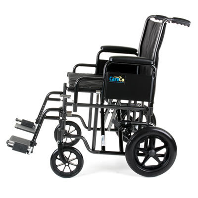 CareCo Voyager Heavy Duty Transport Chair
