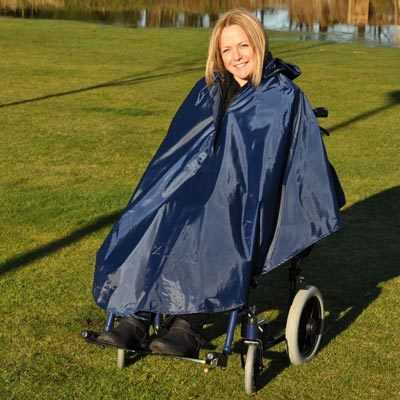 Splash Deluxe Wheelchair Poncho - Lined