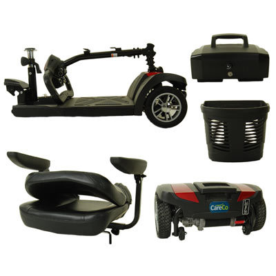 CareCo Zoom Plus Travel Mobility Scooter