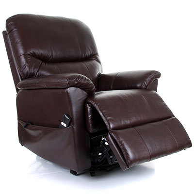 Montreal Leather Dual Motor Electric Riser Recliner Chair Riser
