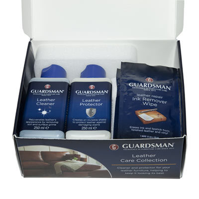 Guardsman Deluxe Leather Care Kit