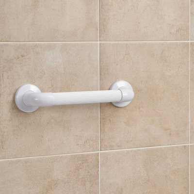 Fluted Plastic Grab Bar
