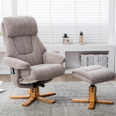 Trieste Heat and Massage Swivel Recliner