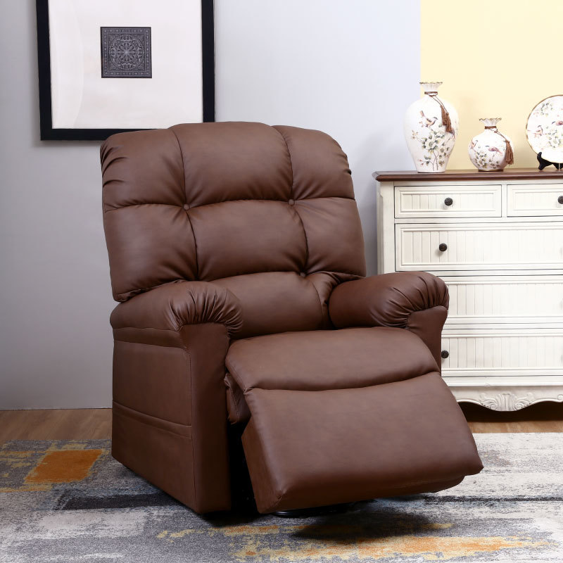 WiseLift EnduraLux Leather Dual Motor Riser Recliner