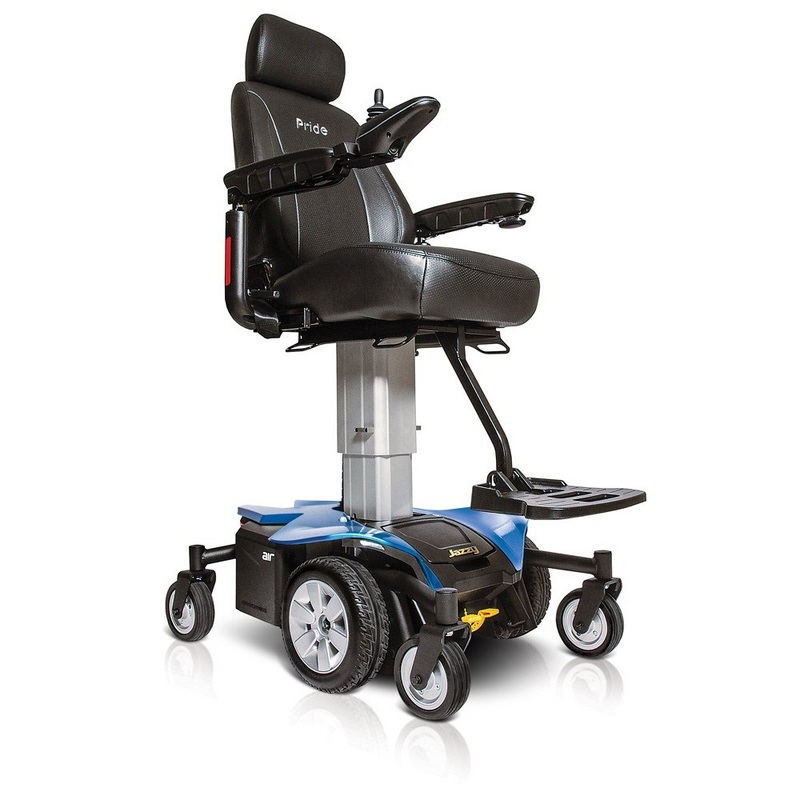 Pride Jazzy Air Powerchair With Rising Seat Careco
