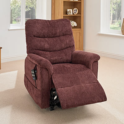 fabric leather riser recliner